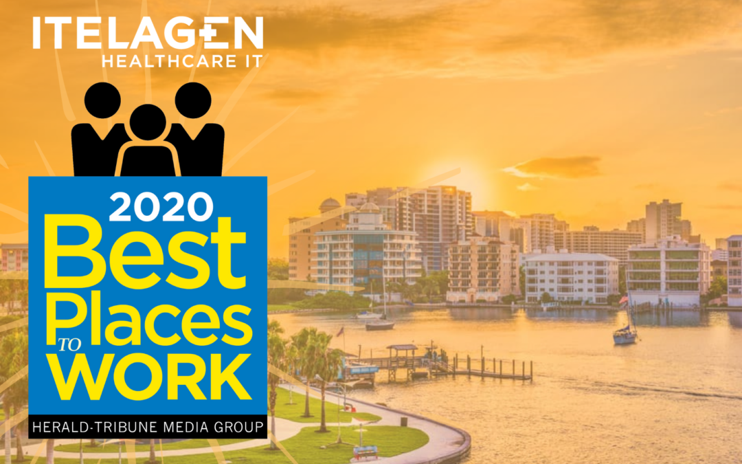 ITelagen Named a Best Place to Work in Sarasota-Manatee for Third Year in a Row